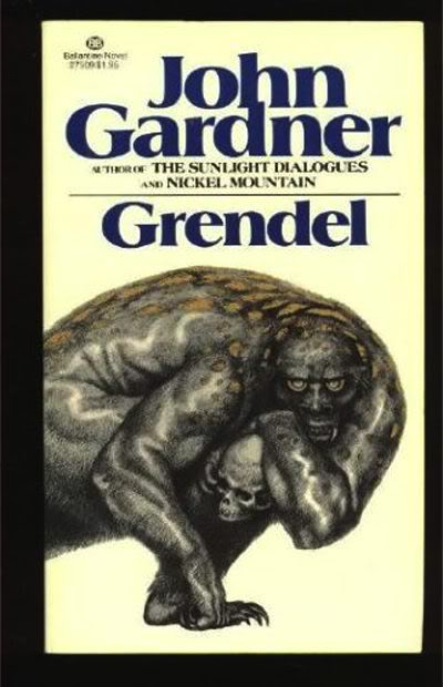 Grendel, John Gardner (Ballantine Books, 1971) | The ...