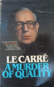 A Murder of Quality Alec Guinness tie-in George Smiley Bantam paperback John le Carre