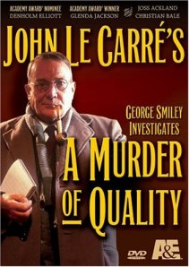 A Murder of Quality DVD cover Denholm Elliott as George Smiley John le Carre