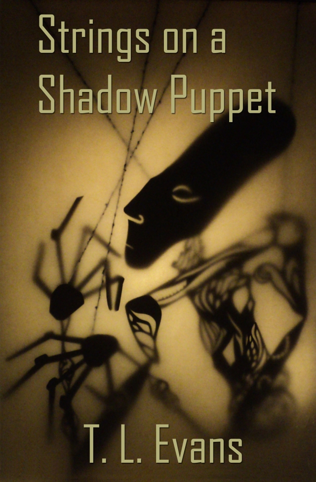 Final eBook cover for Strings on a Shadow Puppet