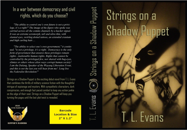 Paperback Cover of Strings on a Shadow Puppet.  All rights reserved.