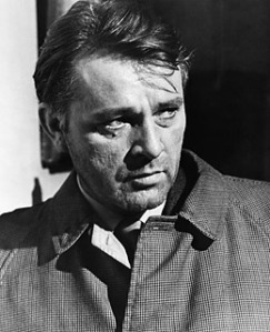 Richard Burton as Leamas in the movie version of the book.  It was a reasonable adaptation, but nothing compared to the novel.