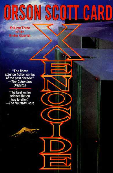 an analysis of the novel xenocide by orson scott card Xenocide: book 3 of the ender saga book 2 in the ender saga (the ender quartet series) the third book of orson scott card's ender saga.